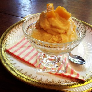 Mango & Chilli, Coconut Kefir Ice Cream, fermented foods, beneficial bacteria, kefir cultures, probiotics,